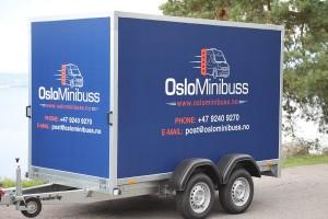 Bagasjehenger for minibuss i Oslo