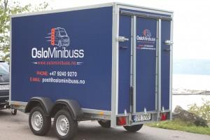 tilhenger for bagasje - minibuss